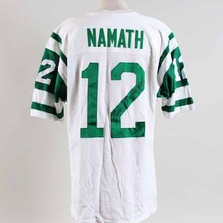 Joe Namath Signed Jersey Jets Authentic – COA JSA