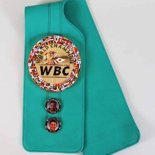 WBC Champion's Trainer Belt