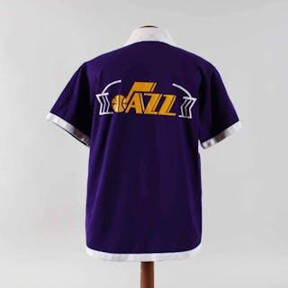 1976-79 Gail Goodrich Worn Jersey & Warm-Up Outfit Jazz