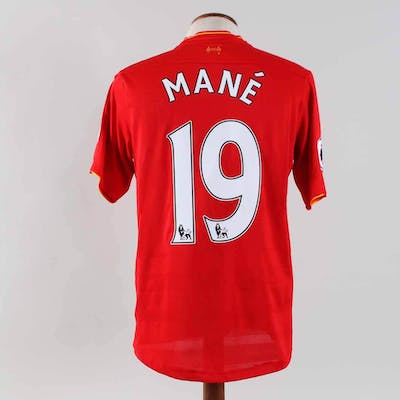 Sadio Mane Game-Worn Jersey Liverpool F.C.