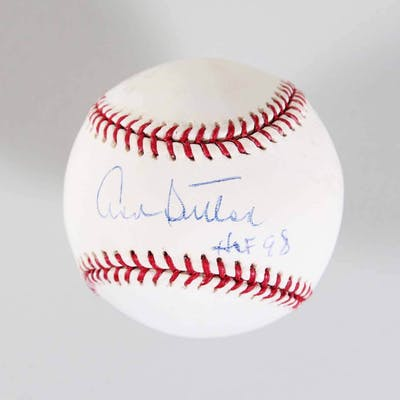 Don Sutton Signed Baseball Dodgers – COA PSA/DNA