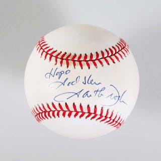 Garth Brooks Signed Baseball – COA PSA/DNA