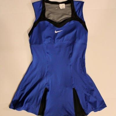 Serena Williams Game-Used Custom Nike Tennis Dress. 2011 US Open.