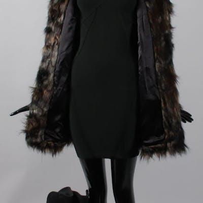Mary Elizabeth Winstead Screen-Worn Coat, Dress, Earrings & Shoes
