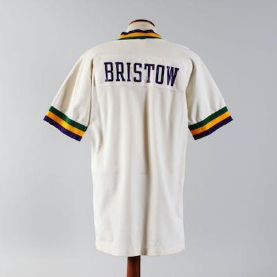 1979-81 Allan Bristow Game-Worn Warm-Up Shirt Jazz