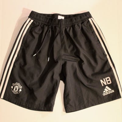 Nicky Butt Training-Worn Manchester United Shorts. 2017/18 Season.