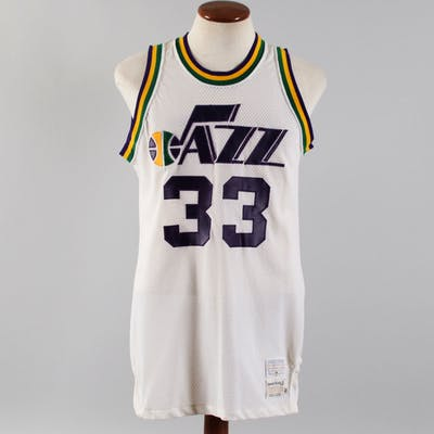 1974-75 Ken Boyd Game-Worn Jersey Jazz