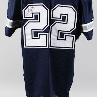 Emmitt Smith Signed Game Ready Jersey Dallas Cowboys – COA Provenance