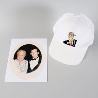Rodney Dangerfield Worn Hat w/ Signed Photo – COA JSA