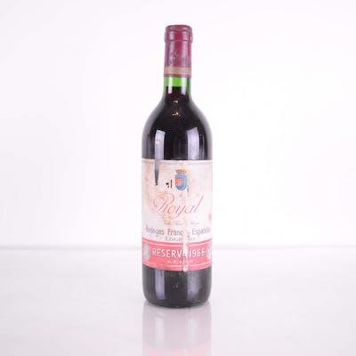 Rioja Bodegas Franco-Espanolas Royal Reserva 1966 LN