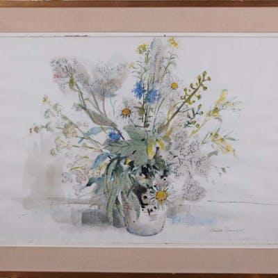 Campbell Timming - Bouquet de fleurs - 1965