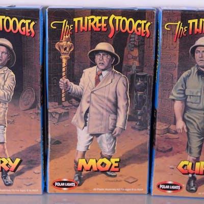 Lot de 3 modèles à coller The three stooges -