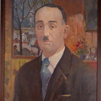 Bougrine, Vladimir - Portrait d'homme - 1989