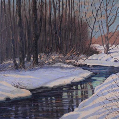 Mitchell, Bruce - Spring in the Laurentians (1957)