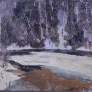 Wilkie Kilgour, Andrew - Winter, Cache River