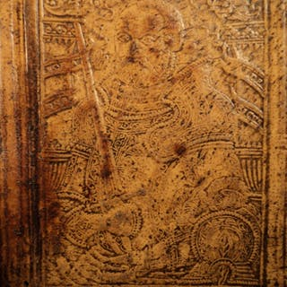 1590 LAW Corpus Denis Godefroy CHARLES V Military ROYAL Armorial BINDING