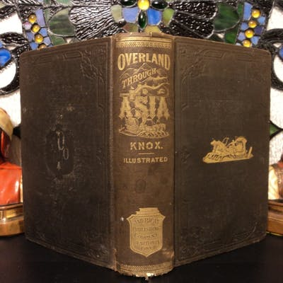 1870 Voyages to ASIA Siberia China Tartary Illustrated Mongolia MAPS