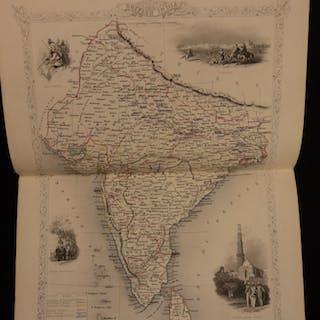 1853 1st ed Life of Duke of Wellington Military & Atlas MAPS of Spain