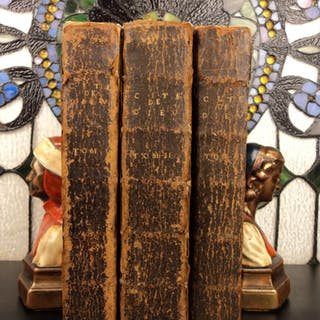 1715 Mystical City of God Maria de Jesus Agreda Catholic Franciscan Nun 3v SET
