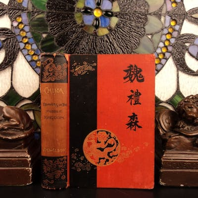 1887 Voyages in CHINA & Japan Asia Travels in Middle Kingdom Civil War Wilson