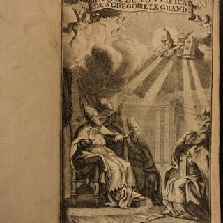 1686 History of Pope Gregory I the Great Early Christian Church Papacy Catholic