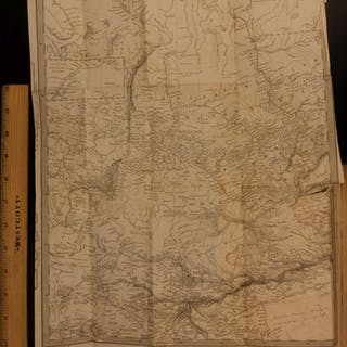1842 1st ed Voyages in Siberia RUSSIA China MAP Tartary Moscow Cottrell