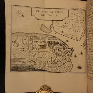 1766 Voyages PIRATES CARIBBEAN Forts Capt Cowley MAPS Saipan Ladrone Acapulco