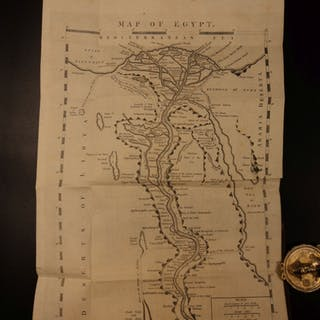 1799 Savary's Letters on EGYPT Illustrated MAPS Arabs Egyptian Pyramids