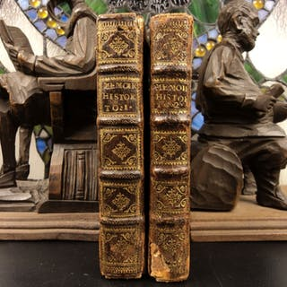 1670 Habsburg Memoirs AUSTRIA Leopold II Holy Roman Empire 2v SET European Wars