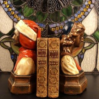 1581 Epistolarum Libri XII Paulus Manutius Venetian Humanism Philosophy Aldine