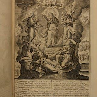 1693 1st ed Passion of Jesus Christ Illustrated Michel Natalis Art