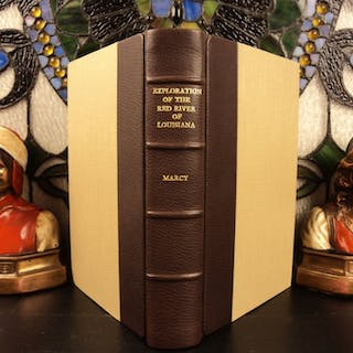 1852 1st ed Exploration of Red River Marcy Illustrated Louisiana Purchase Texas