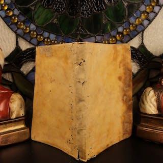 1523 Juvenal & Persius SATIRES Classical Rome LATIN Juvenalis Post Incunable