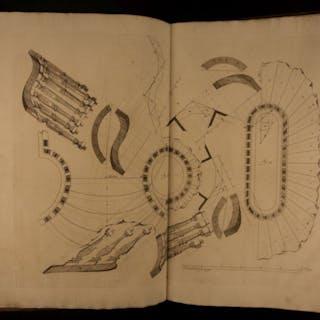 1739 Dutch Engineering Theatrum Machinarum Architecture Mathematics Stairways