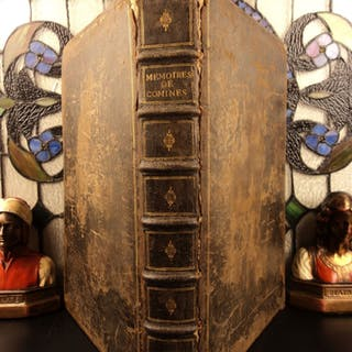 1649 Memoires of Philippe Commines King Louis XI France Charles VIII Political