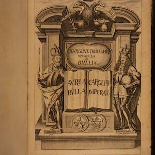 1697 1ed Papal Bulls Holy Roman Empire Charles IV Constantine Gold