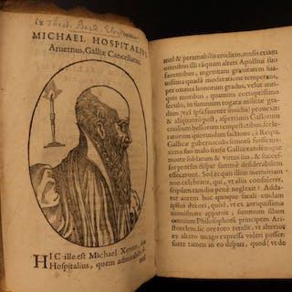 "1592 1st ed Michel de l'HР""Т'pital Galliarum FRANCE Political Philosophy"