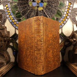 1779 1st ed Lost City of ATLANTIS w/ Plato Astronomy Voltaire Bailly