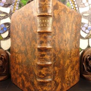 1505 1ed Albertus Magnus Bible & Commentary Gospel of Matthew Science