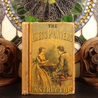 1859 Chess Players Instructor Charles Stanley Strategy Rules Instruction Games
