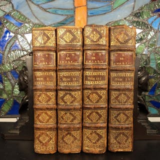 1715 Life of Charles V Holy Roman Empire Military Battles Wars Portraits 4v SET
