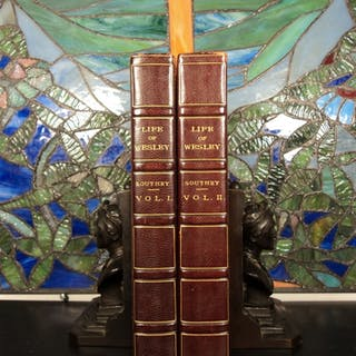 1820 1ed Life of John Wesley Robert Southey Methodism Methodist 2v SET BEAUTY