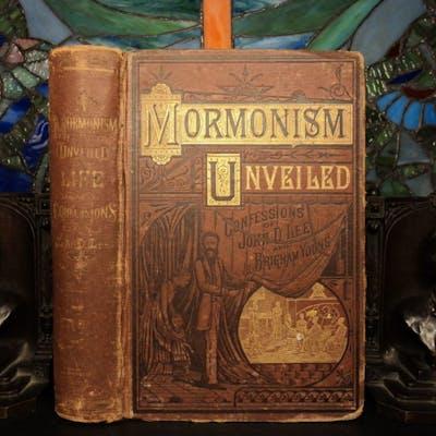 1882 Mormonism Unveiled John D Lee Mountain Meadow Massacre