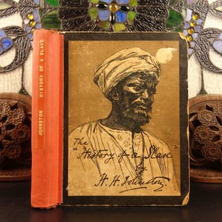 1889 1st ed History of a Slave Harry Johnston Illustrated Slavery Sudan Africa