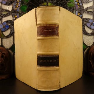 1559 1st ed Decretum Gratiani Decree Gratian Medieval CANON LAW Catholic Church