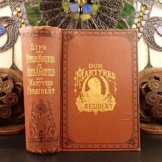 1881 1st Life of James A Garfield United States President Speeches