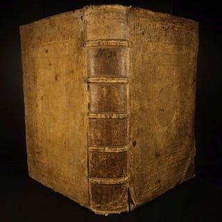 1590 ENORMOUS LAW Corpus Juris Civilis Justinian Jurisprudence Godefroy Binding