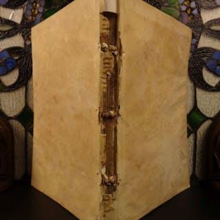 1564 Simplicus of Cilicia on ARISTOTLE Greek Pagan Philosophy Metaphysics Folio