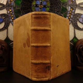 1539 1st ed Dictionary & Lexicon German Protestant Grynaeus GREEK Language RARE