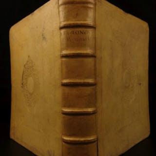 1691 1ed Gronovius Numismatics Coins Precious Metals Silver Classical